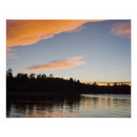 Poster del lago big Bear