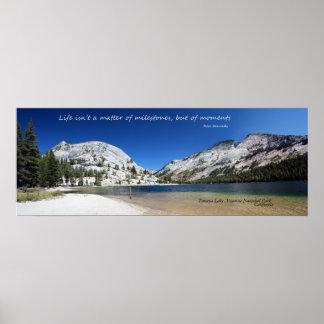 Poster del lago Tenaya