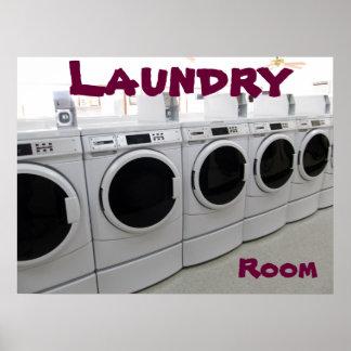 Poster del lavadero
