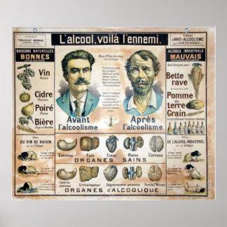 Poster del l'Ennemi #1 de L'Alcool Voila