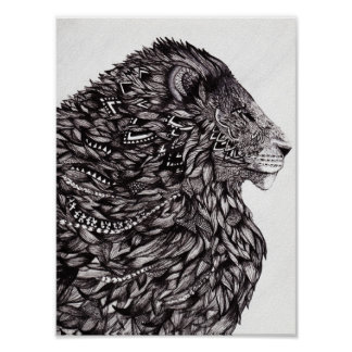 Poster del león