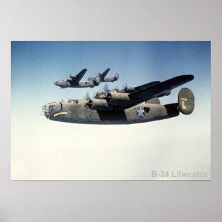 Poster del libertador B-24