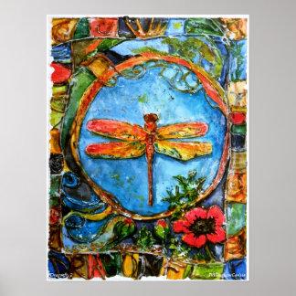 Poster del ll de la libélula de PMACarlson Póster