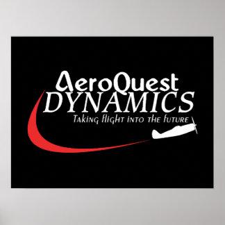 Poster del logotipo de Dixie AeroQuest