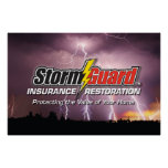 Poster del logotipo del guardia de 24 x 36 torment