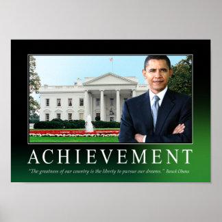 Poster del logro