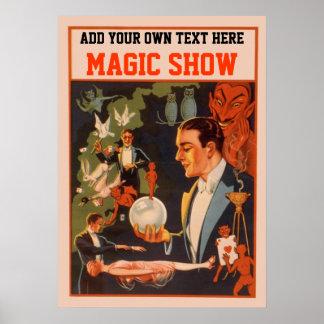 Poster del mago - haga su propio _su nombre