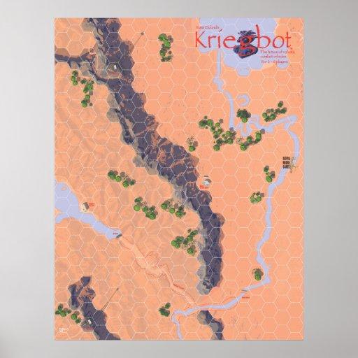 Poster del mapa de Kriegbot