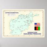 Poster del mapa de OEF