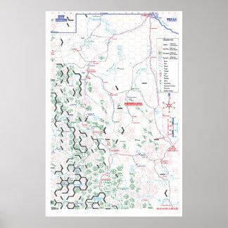Poster del mapa de Pancho Villa
