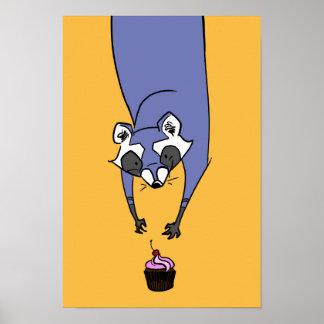 Poster del mapache de la magdalena