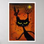 Poster del mesón del gato negro
