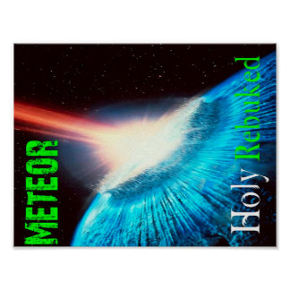 Poster del meteorito
