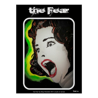 "poster ""del miedo"""