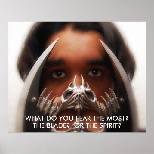 Poster del miedo