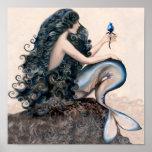 Poster del mito de la fantasía de las sirenas de l