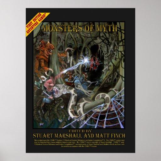 Poster del Monstruo-de-Mito