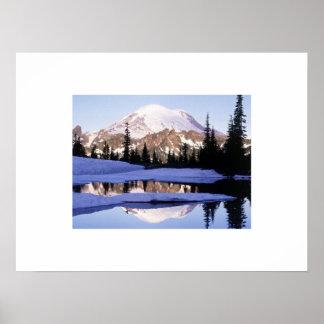 Poster del Monte Rainier