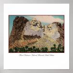 Poster del monte Rushmore