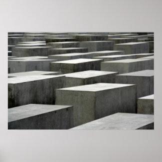 Poster del monumento del holocausto