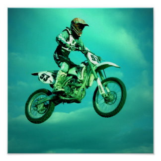 Poster del motocrós
