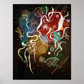 Poster del movimiento I de Kandinsky