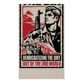 Poster del mundo de la Cia tercer