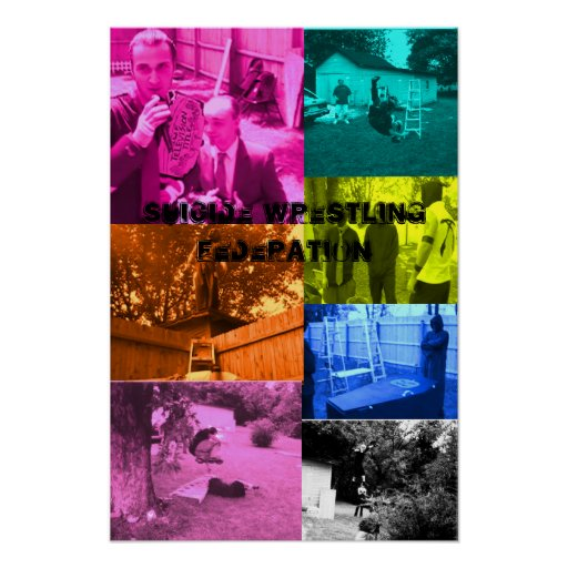 poster del muti-color del swf