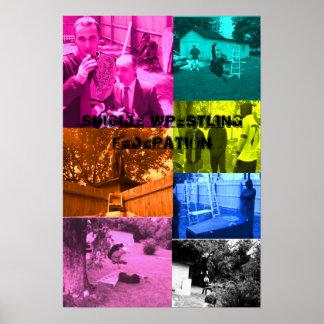 poster del muti-color del swf póster