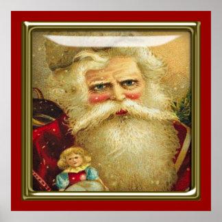 poster del navidad del vintage A PARTIR del 8,99
