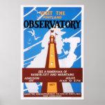 Poster del observatorio de Portland, Maine