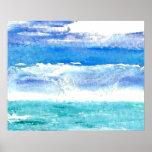 Poster del océano de CricketDiane - Calypso 2 del