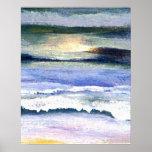 Poster del océano de CricketDiane - crepúsculo 2-2