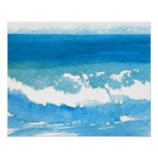 Poster del océano de CricketDiane - danza del océa