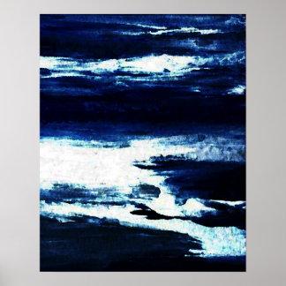 Poster del océano de CricketDiane - dicha 2