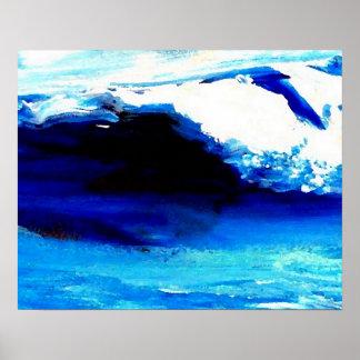 Poster del océano de CricketDiane - emociones del