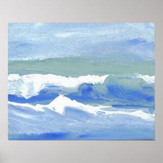 Poster del océano de CricketDiane - en el clima te