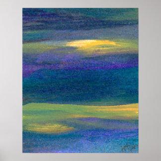 Poster del océano de CricketDiane - esencia del oc
