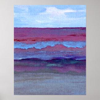 Poster del océano de CricketDiane - mar trascenden