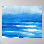 Poster del océano de CricketDiane - paisaje marino