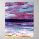 Poster del océano de CricketDiane - playa