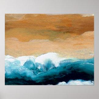 Poster del océano de CricketDiane - preludio