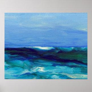 Poster del océano de CricketDiane - señora del mar