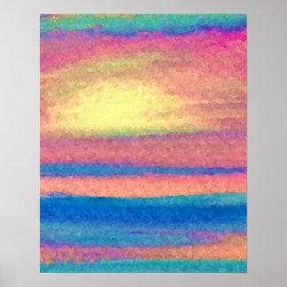 Poster del océano de CricketDiane - serenata