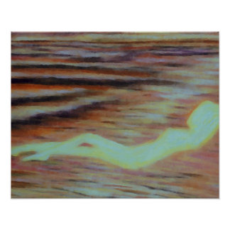 Poster del océano de CricketDiane - serenidad