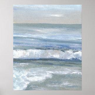 Poster del océano de CricketDiane - tranquilidad 1