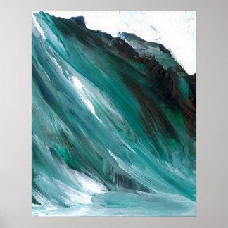 Poster del océano de CricketDiane - una onda