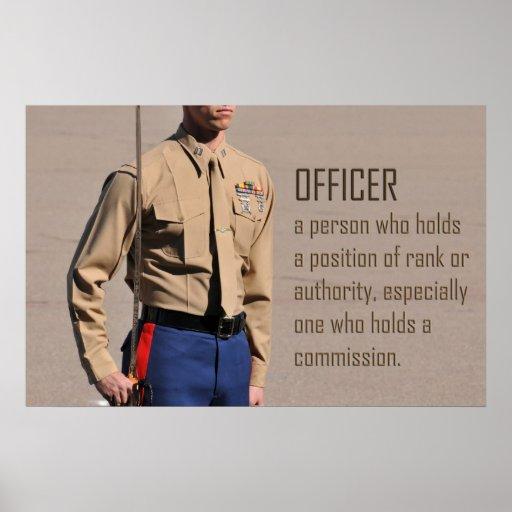 Poster del oficial