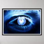 Poster del ojo azul