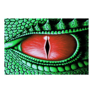 Poster del ojo del dragón